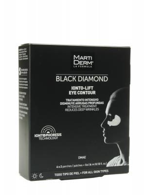 Martiderm ionto lift eye contour gel 4 ml x 2 parches