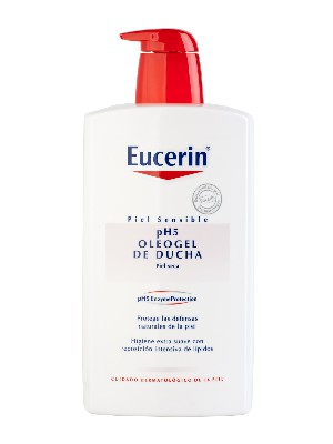 Eucerin oleogel de ducha piel sensible ph-5 1000 ml