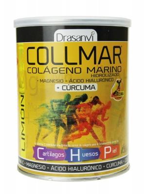 Collmar colágeno marino hidrolizado con cúrcuma sabor limón 300gr