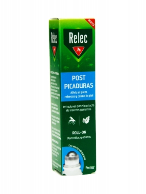 Relec post picaduras roll on 15 ml adultos y niños