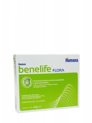 Humana benelife flora 10 sobres