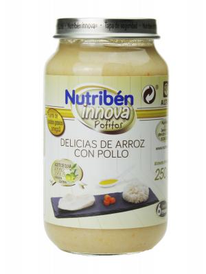 Nutribén innova delicias arroz con pollo 250gr