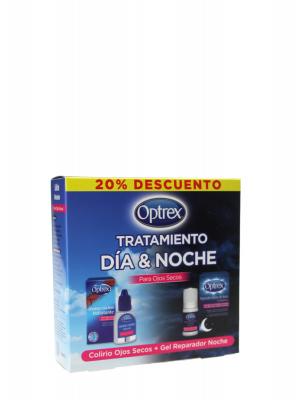 Optrex tratamiento día y noche • para ojos secos