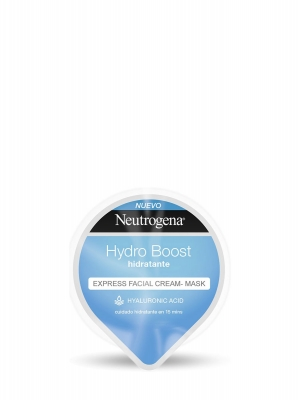 Neutrogena mascarilla-crema hidratante hydroboost 10ml