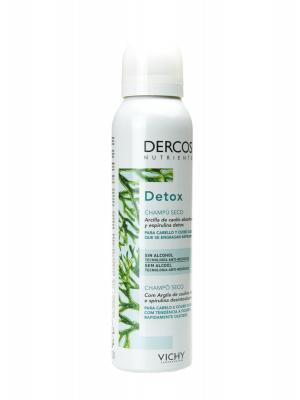 Dercos detox champú seco 250ml