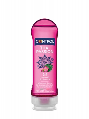 Control thai passion 2 en 1 gel masaje 200 ml