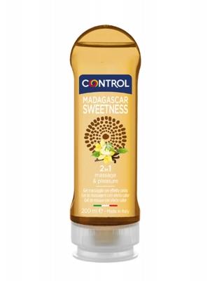 Control madagascar sweetness 2 en 1 gel masaje 200 ml