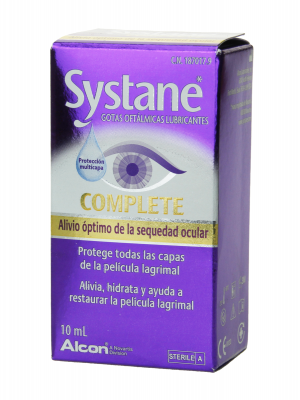 Systane complete gotas oftálmicas lubricantes 10 ml