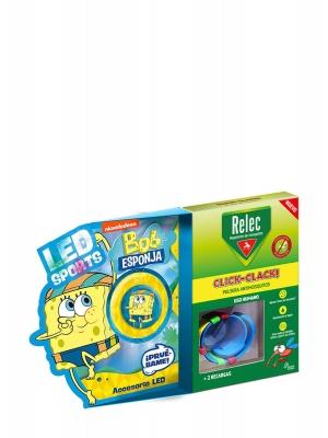 Relec pulsera reloj antimosquitos bob esponja natación +2 recargas