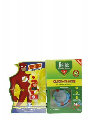 Relec pulsera-reloj flash antimosquitos