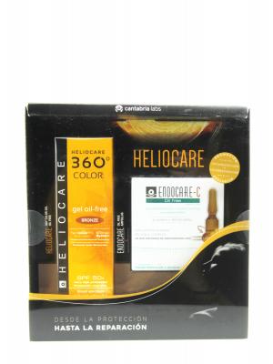 Heliocare 360º gel oil free color bronze spf 50+ 50ml