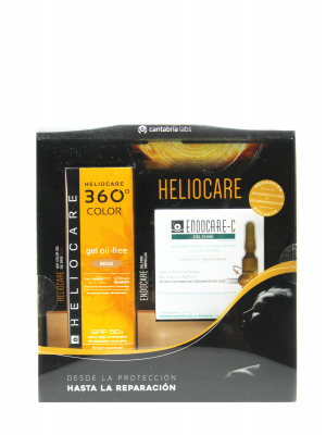 Heliocare 360º gel oil free color beige spf 50+ 50ml