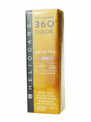Heliocare 360º gel oil free color beige spf 50+ 50ml