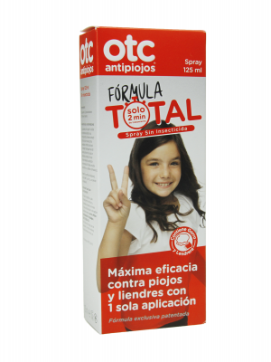 Otc antipiojos fórmula total spray 125 ml
