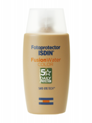 Isdin fusion water con color spf 50+ 50ml