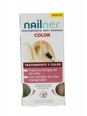 Nailner antihongos tratamiento color 2 unidades x 5 ml