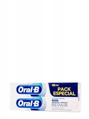 Oral b duplo original pasta encías & esmalte 2x125 ml