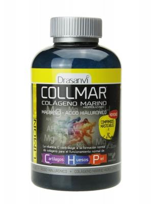 Collmar colágeno marino sabor limón 180 comprimidos masticables