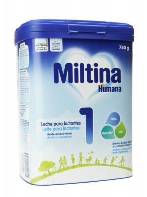 Miltina plus 1 leche de inicio 750 gr