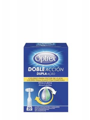 Optrex doble acción picor de ojos 20 monodosis