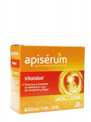 Apisérum vitalidad 18 viales
