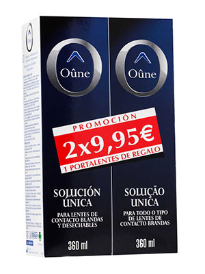 Oûne solución única 360 ml 2 unidades
