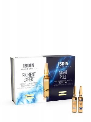 Isdin isdinceutics pigment expert 10 ampollas + night peel 10 ampollas
