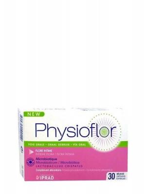 Physioflor microbiótico 30 cápsulas