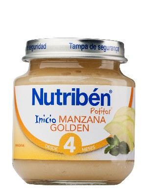 Nutriben manzana golden 130 gr