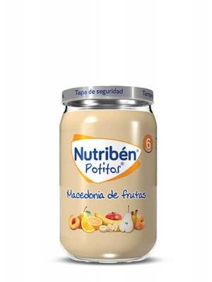 Nutriben potito macedonia de frutas 235g