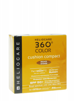 Heliocare 360º cushion compact bronze intense spf 50+ 15 gr