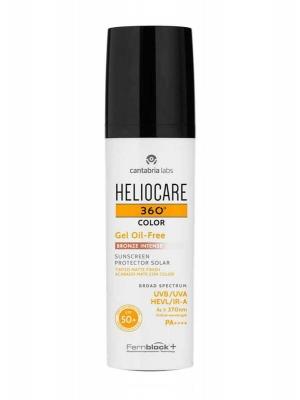 Heliocare 360º gel oil free color bronze intense spf 50+ 50ml