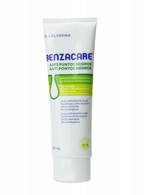 Benzacare gel anti puntos negros 120 ml