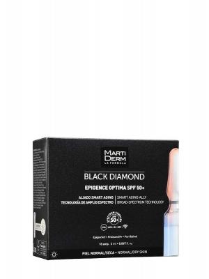Martiderm black diamond epigence óptima spf 50+ 10 ampollas
