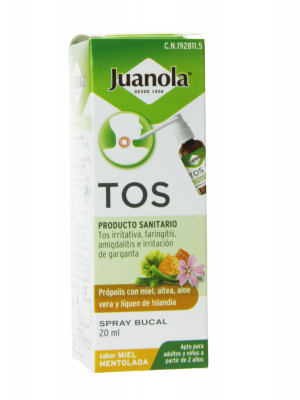 Juanola tos spray 20 ml