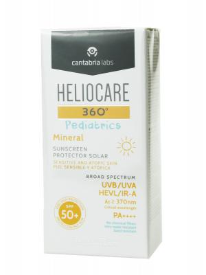 Heliocare 360º pediatrics fotoprotector mineral spf 50+ 50 ml