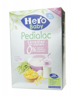 Hero baby pedialac cereales sin gluten 340 g