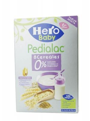 Hero baby pedialac papilla 8 cereales 340 gr