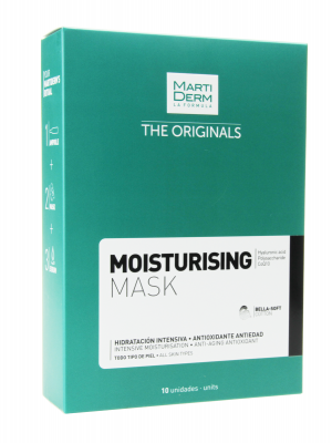 Martiderm the originals mask moisturising 10 unidades