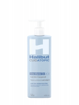 Halibut cuidatopic locion corporal 400 ml