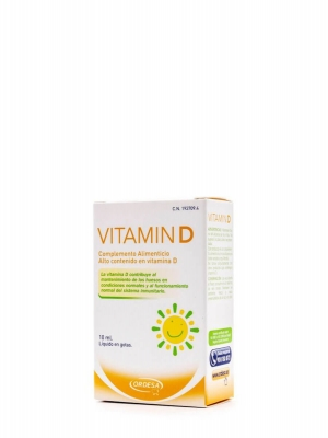 Ordesa vitamin d 10 ml