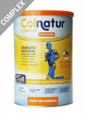 Colnatur complex cúrcuma sabor mediterráneo 250 gr