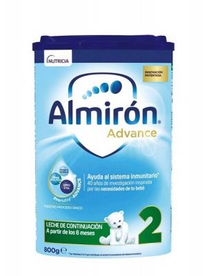 Almirón advance 2 leche de continuación 800 gr