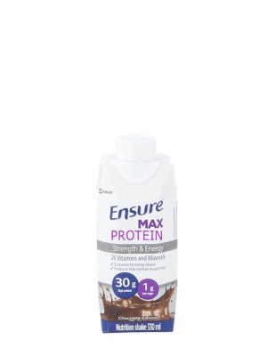 Ensure max protein sabor chocolate 330ml