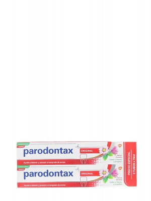 Parodontax duplo original pasta dentífrica 2x75 ml