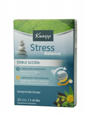Kneipp stress balance 15 tabletas
