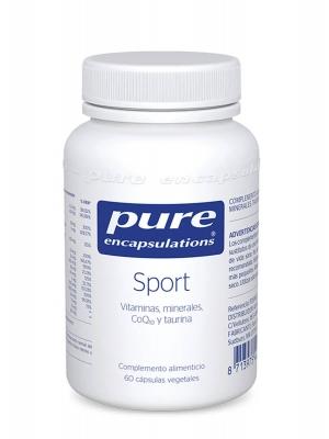 Pure encapsulations sport 60 capsulas