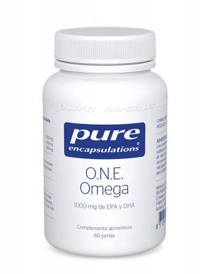Pure encapsulations one omega 60 perlas
