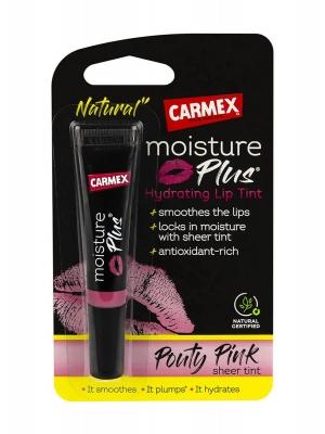Carmex moisture plus hidratante con color pink 3.8 gr