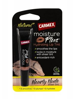 Carmex moisture plus hidratante con color nude 3.8 gr